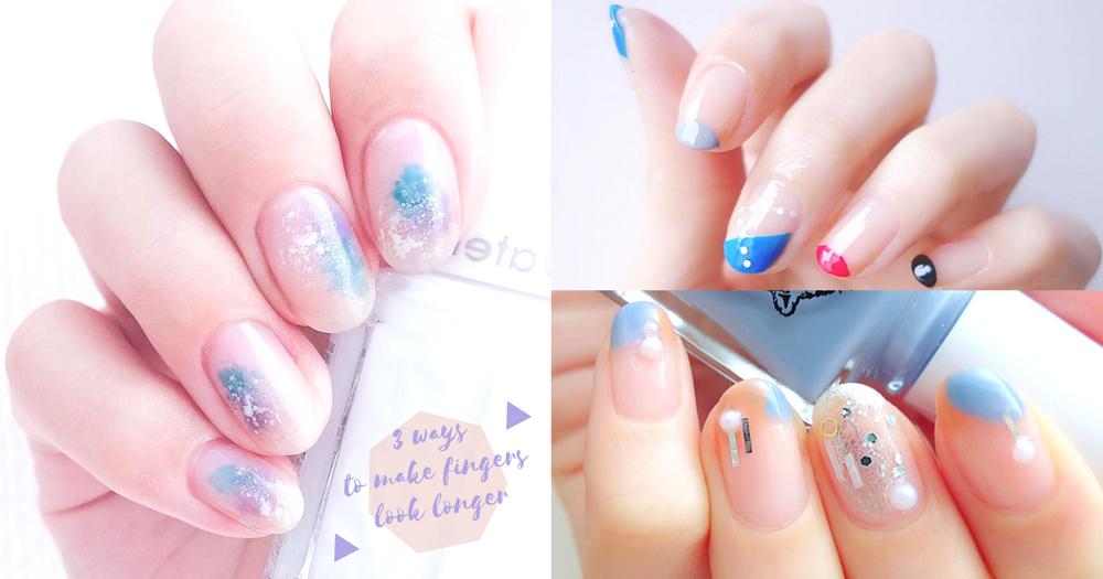 短指甲都OK!3個美甲方法令手指顯得更纖幼~唔駛留長指甲就可以有一對靚手!