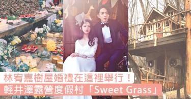 林宥嘉樹屋婚禮在這裡舉行!輕井澤露營度假村「Sweet Grass」~森系女生憧憬的夢幻婚禮場地!