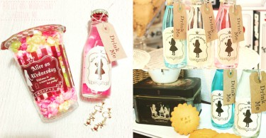 終於可以當一次愛麗絲!夢幻愛麗絲「Drink Me」蘋果酒,跟愛麗絲變小後來一場冒險吧!