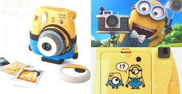 迷你兵叫你望鏡頭影相!最新可愛Minions 即影即有相機,等迷你兵企起到幫你揸機影相!