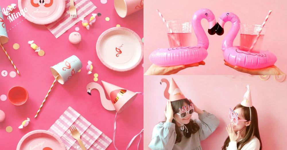 韓妹繼續熱捧可愛紅鶴風!全新粉嫩可愛紅鶴系列商品,依個夏天黎同紅鶴一齊開Party!