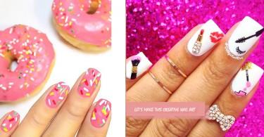 指甲是時候要換上新裝了!17款超有創意的指甲藝術...可愛度UP~
