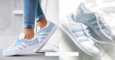 天空的顏色!精選3對天藍色球鞋,走小清新路線的你怎能抗拒?
