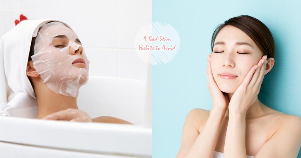 皮膚變得愈來愈粗糙不是沒有原因的~原來罪魁禍首就是這9點壞習慣啊!