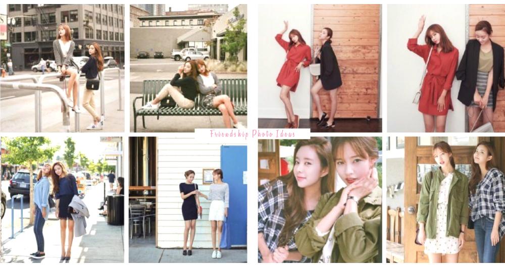 友情全記錄!32款閨蜜拍照Pose大公開,預備相機和你我就足夠了〜