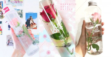 這是美女與野獸的玫瑰嗎?唯美「水瓶玫瑰」販賣機就買到,男友知道怎樣做了吧〜