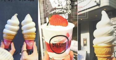 衝擊少女心!東京涉谷人氣粉嫩x香滑x綿密雪糕咖啡店,看到就忍不住要吃上一口啊!