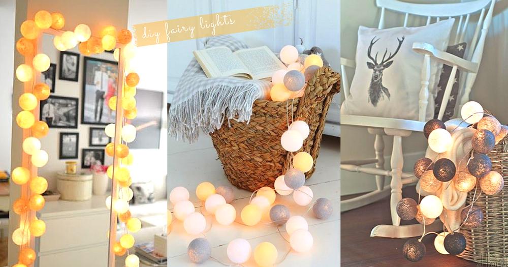 零失敗手作!DIY 浪漫彩色波波燈~用簡單的材料就可以為房間增添夢幻氣氛!