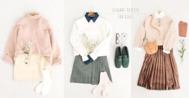 穿搭成功的秘訣在於和諧感!4種同色系穿搭,卡其粉橘、湖水綠天藍你最愛哪款?