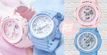 櫻花粉X嬰兒藍!BABY-G春日粉嫩新色,小清新女生的必備夢幻手錶!