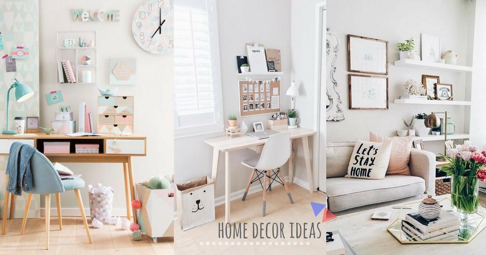 打造實用又時尚簡約的家!20個超實用家居裝飾擺設方法,為蝸居帶來更多空間~