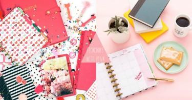 手殘女的專屬手帳點子!14款粉紅色系少女心手帳提案,姐的少女心就要在手帳爆發~