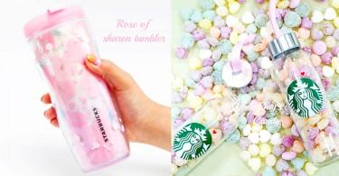韓國Starbucks推無窮花Tumbler+白色情人節心心糖!又有衝動馬上去韓國了〜