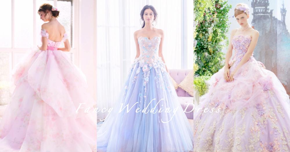 20款夢幻系仙氣婚紗!每個女生都可化身迪士尼公主,擁有像童話般的幸福婚禮〜