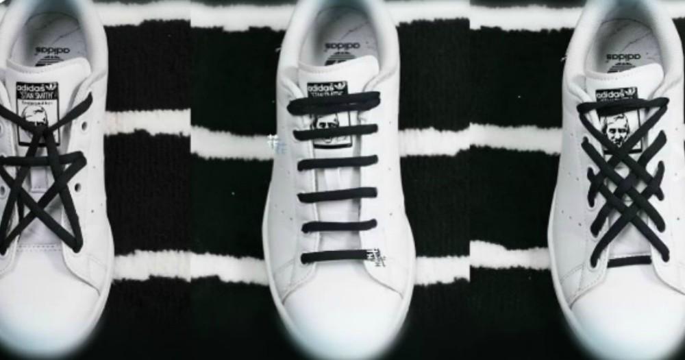 太特別了!3款花式鞋帶綁法正流行