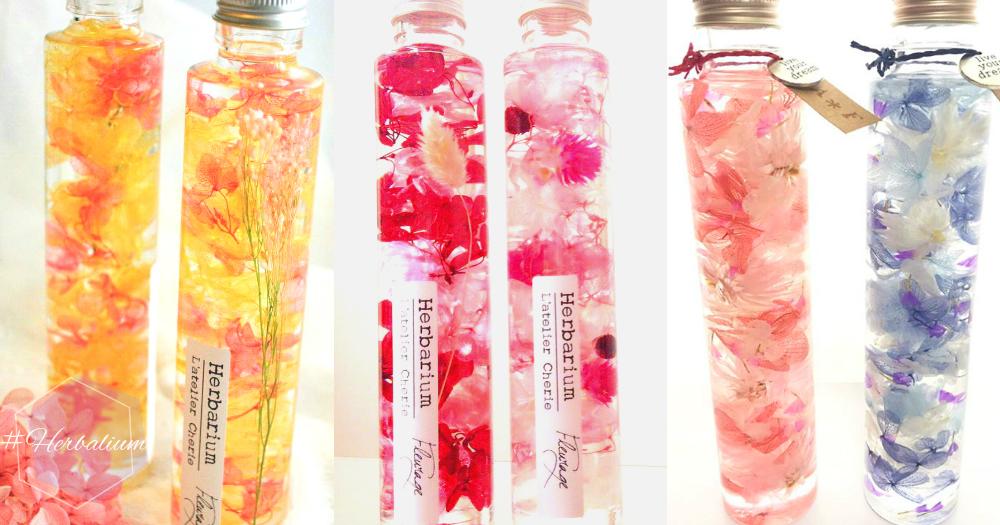 把花束變成永遠的裝飾品~日本女孩間大熱粉嫩「鮮花水」,讓唯美的愛一直永不凋謝~