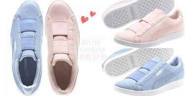 薰衣草藍X玫瑰粉紅!Puma推出全新花色懶人球鞋「Vikky Slip On」,溫柔色系叫少女如何抵擋!