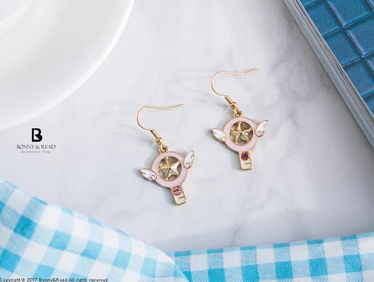 Bonny & Read https://www.bonnyread.com.tw/products/cardcaptor-sakura-earrings