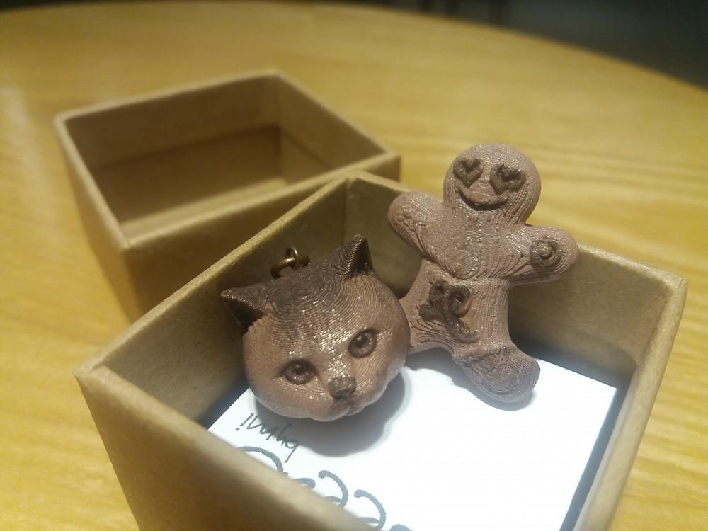 【3D打印飾品初體驗】