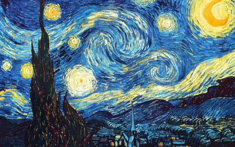 【藝文狂想—梵高的《星夜》人生之謎】
