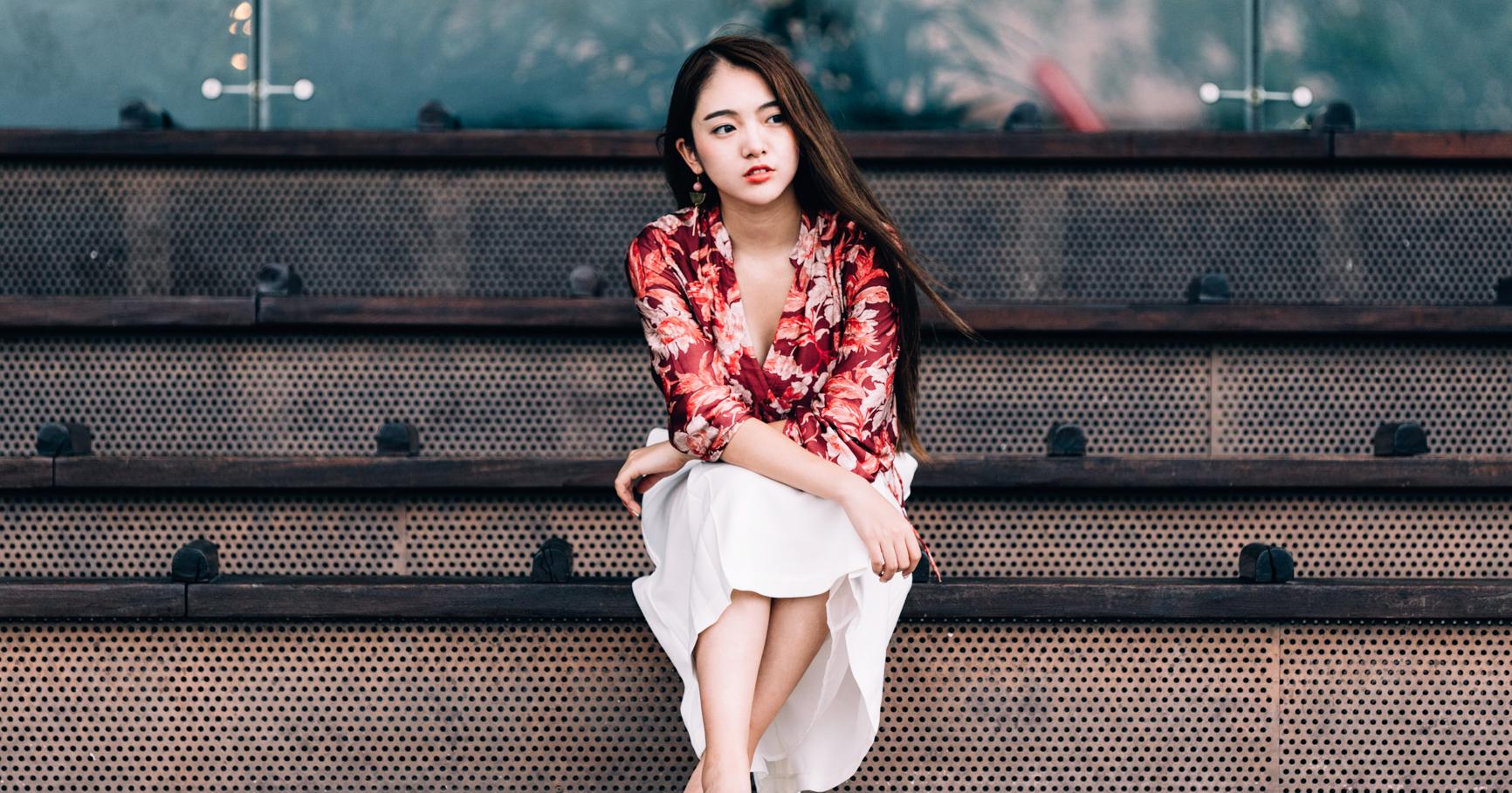 旅拍香港-日落山峰-大東山