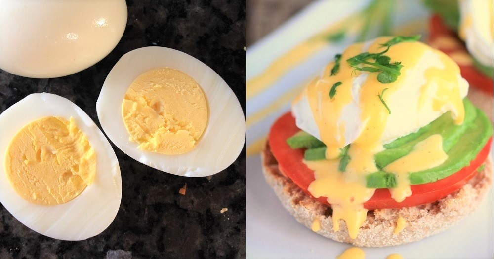 班尼迪蛋熱量比烚蛋高8倍