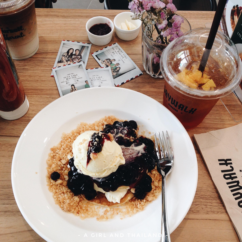 【曼谷】價錢平味道好!值得一試的pancake店