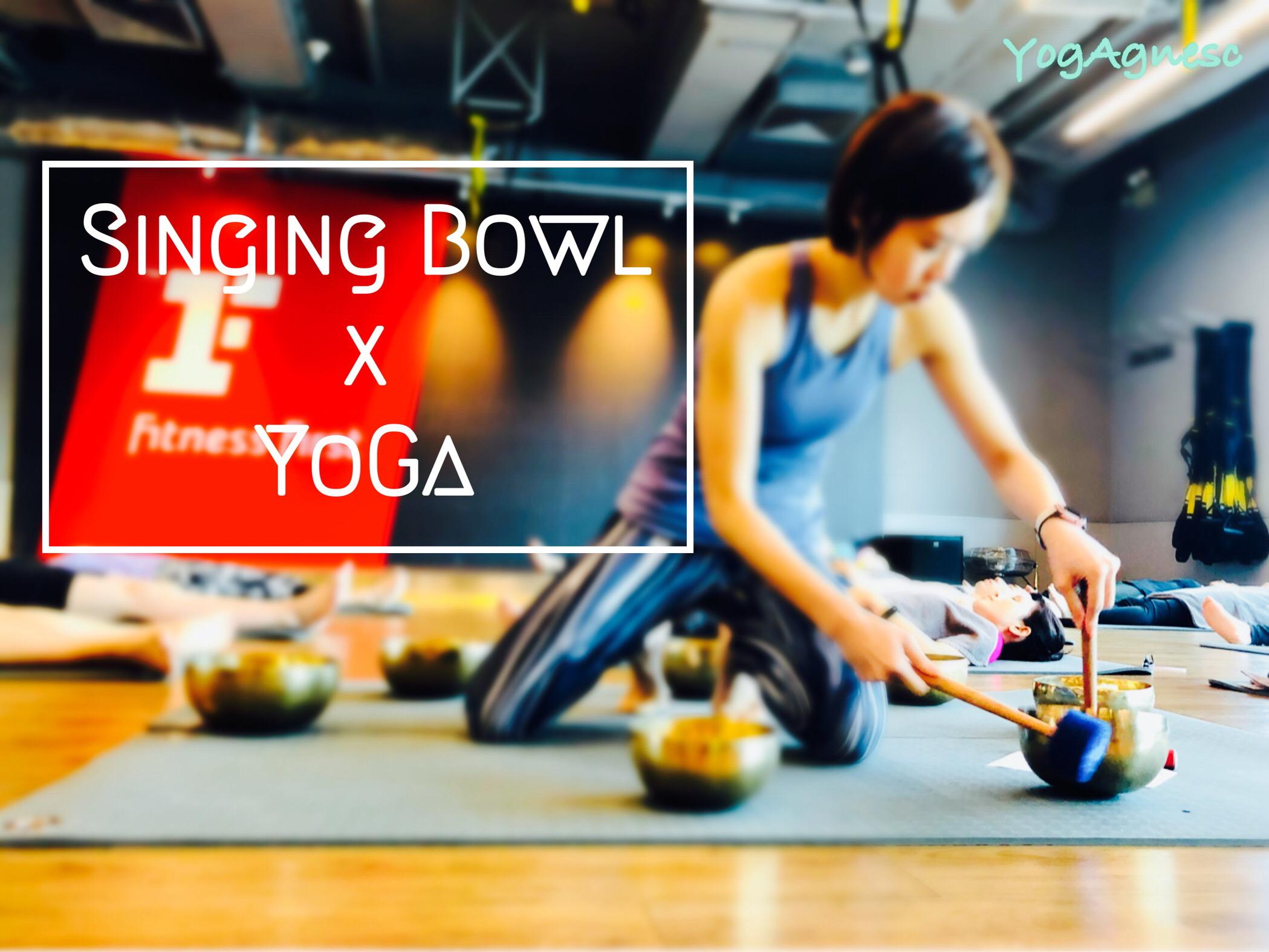 Singing bowl x Yoga