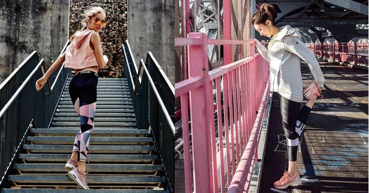 上健身房也要美 盛夏粉色系ACTIVE WEAR