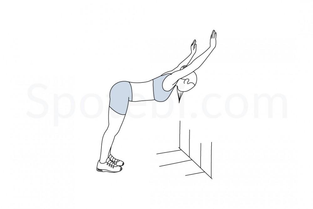 wall-shoulder-stretch-exercise-illustration-spotebi