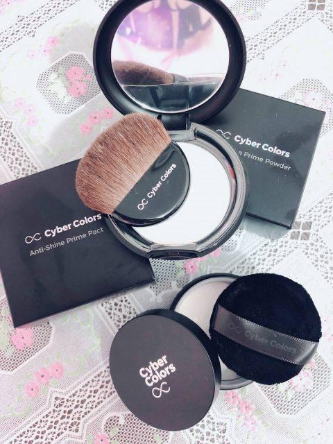 ♡ 彩妝 ◆ 打造無瑕啞緻零油光妝容 ◆ Cyber Color 控油定妝蜜粉 / 控油啞緻清爽粉餅 ♤