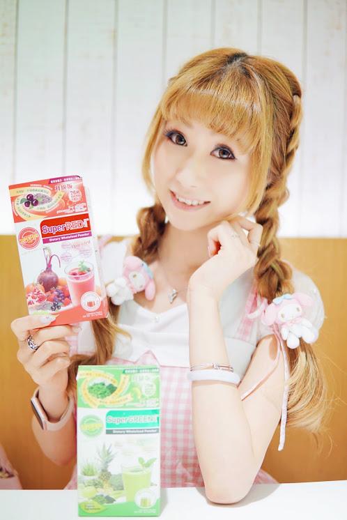 ♡ 保健 ◆ 升級版超級美纖1+1 體內淨化美肌沖劑 ◆ SuperGreen pH7.3 & SuperRed Antiox ♤
