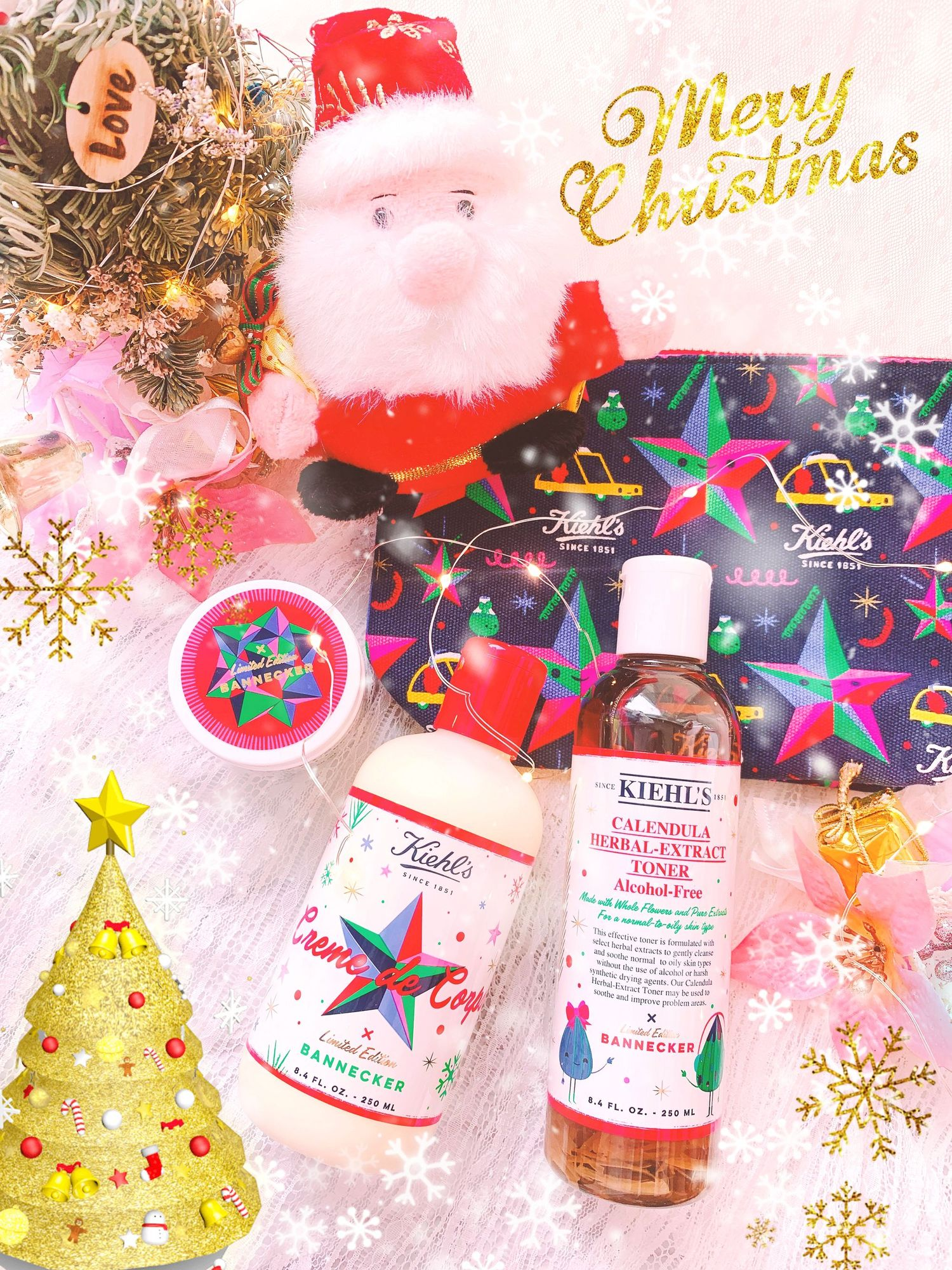 Kiehl's Happy Christmas is coming 全新六款節日限量版系列